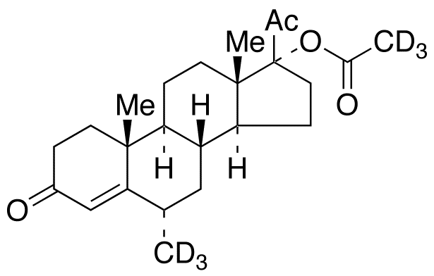 Medroxy Progesterone-d<sub>6</sub> 17-Acetate