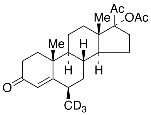 epi-Medroxy Progesterone-d<sub>3</sub> 17-Acetate