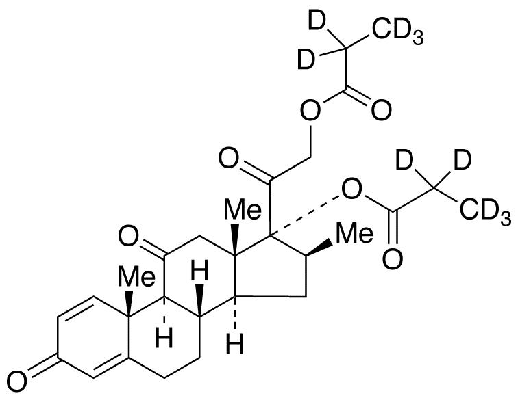 Meprednisone 17,21-Dipropionate-d<sub>10</sub>