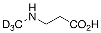 N-Methyl-β-alanine-d<sub>3</sub>