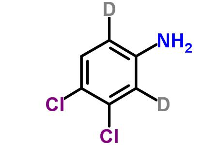 3,4-Dichloroaniline-2,6-d<sub>2</sub>