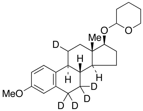 3-O-Methyl 17&#946;-Estradiol-d<sub>5</sub> 17-O-Tetrahydropyran