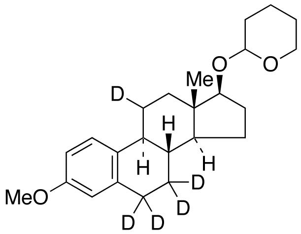 3-O-Methyl 17β-Estradiol-d<sub>5</sub> 17-O-Tetrahydropyran