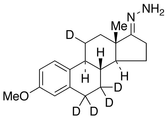 3-O-Methyl Estrone-d<sub>5</sub> Hydrazone