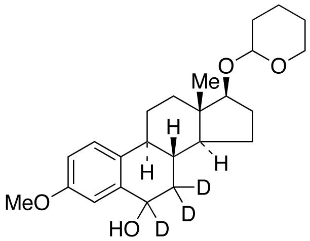 3-O-Methyl 6-Hydroxy-17&#946;-estradiol-d<sub>3</sub> 17-O-Tetrahydropyran