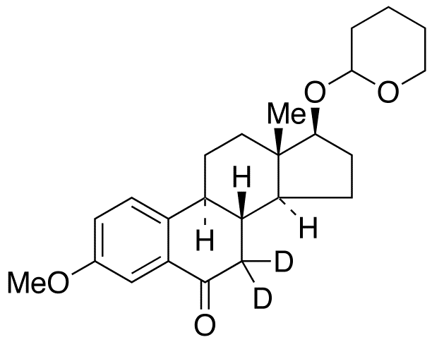 3-O-Methyl 6-Keto 17&#946;-Estradiol-d<sub>2</sub> 17-O-Tetrahydropyran