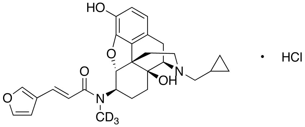 Nalfurafine-d<sub>3</sub> hydrochloride