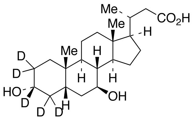 24-Nor Ursodeoxycholic Acid-d<sub>5</sub>