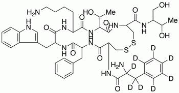 Octreotide-phenylalanine-d<sub>8</sub>