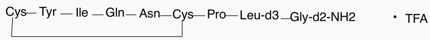 Oxytocin-d<sub>5</sub> trifluoroacetate