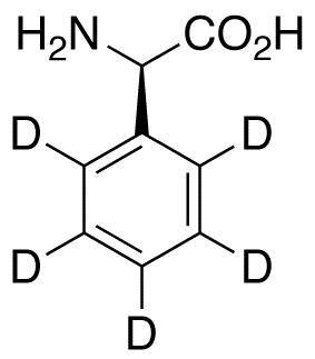 D-(-)-2-Phenylglycine-d<sub>5</sub>
