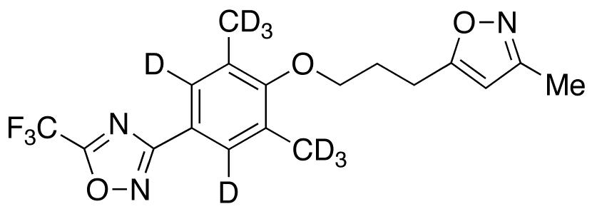 Pleconaril-d<sub>4</sub>