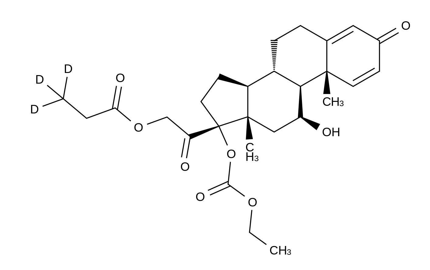 Prednicarbate-d<sub>3</sub>