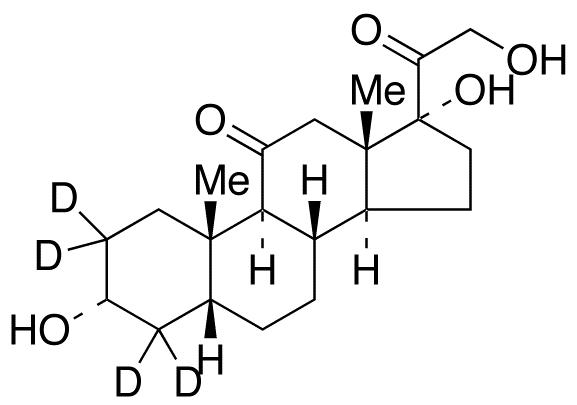 Tetrahydro Cortisone-d<sub>4</sub>