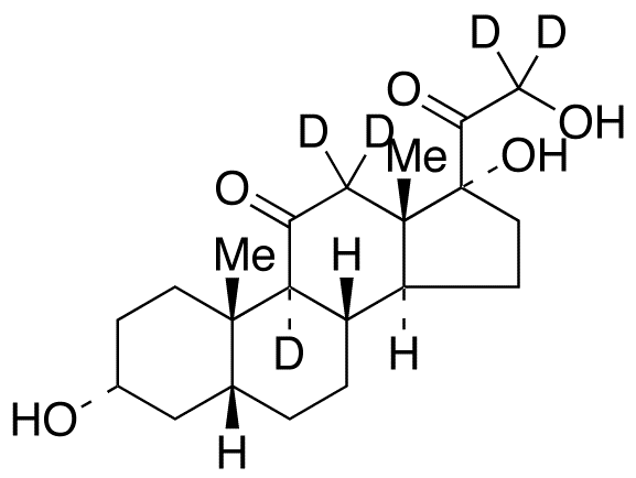 Tetrahydro Cortisone-d<sub>5</sub>