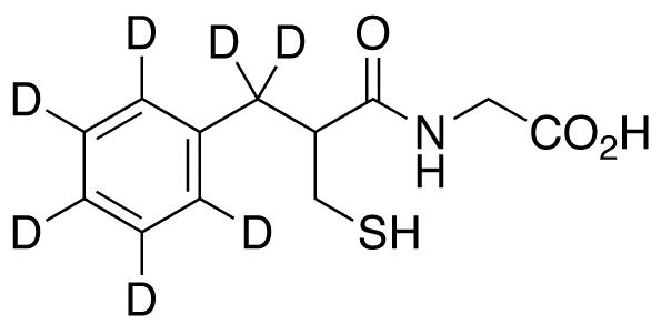 Thiorphan-d<sub>7</sub>