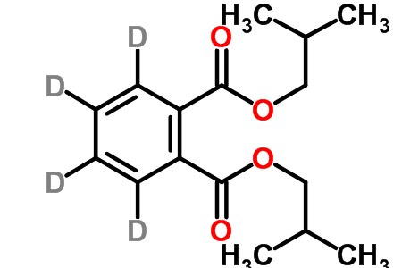 Diisobutyl Phthalate-3,4,5,6-d<sub>4</sub>