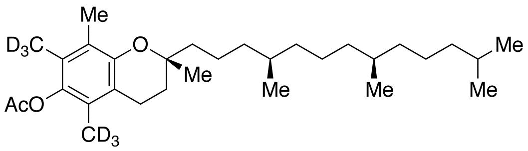 Vitamin E (5,7-d<sub>6</sub>) acetate
