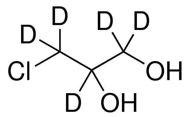3-Chloro-1,2-propane-d<sub>5</sub>-diol