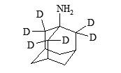 Amantadine-d<sub>6</sub>