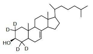 Lathosterol-2,2,4,4-d<sub>4</sub>