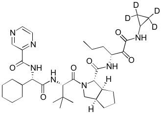 (R)-Telaprevir-d<sub>4</sub>