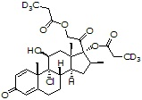 Beclomethasone dipropionate-d<sub>6</sub>