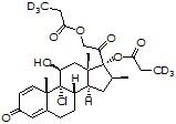 Beclomethasone dipropionate-d<sub>6</sub>