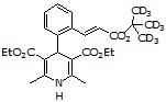 Lacidipine-d9