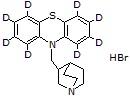 Mequitazine-d8 hydrobromide