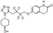4-trans-Hydroxy cilostazol-d4