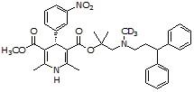 (R)-Lercanidipine-d<sub>3</sub>