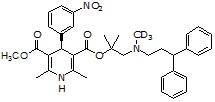 (S)-Lercanidipine-d<sub>3</sub>