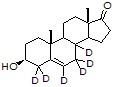 5-Androsten-3-β-ol-17-one-d<sub>6</sub>