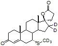 7&#945;-Methylthio spironolactone-d<sub>5</sub>