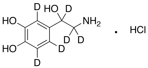 Norepinephrine-2,5,6,α,β,β-d<sub>6</sub> hydrochloride