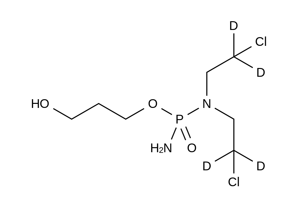 Alcophosphamide-d<sub>4</sub>