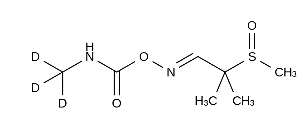 Aldicarb-d<sub>3</sub> Sulfoxide