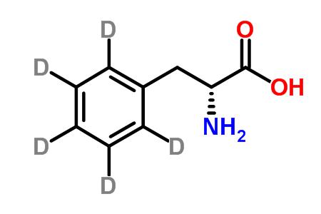 D-Phenyl-d<sub>5</sub>-alanine