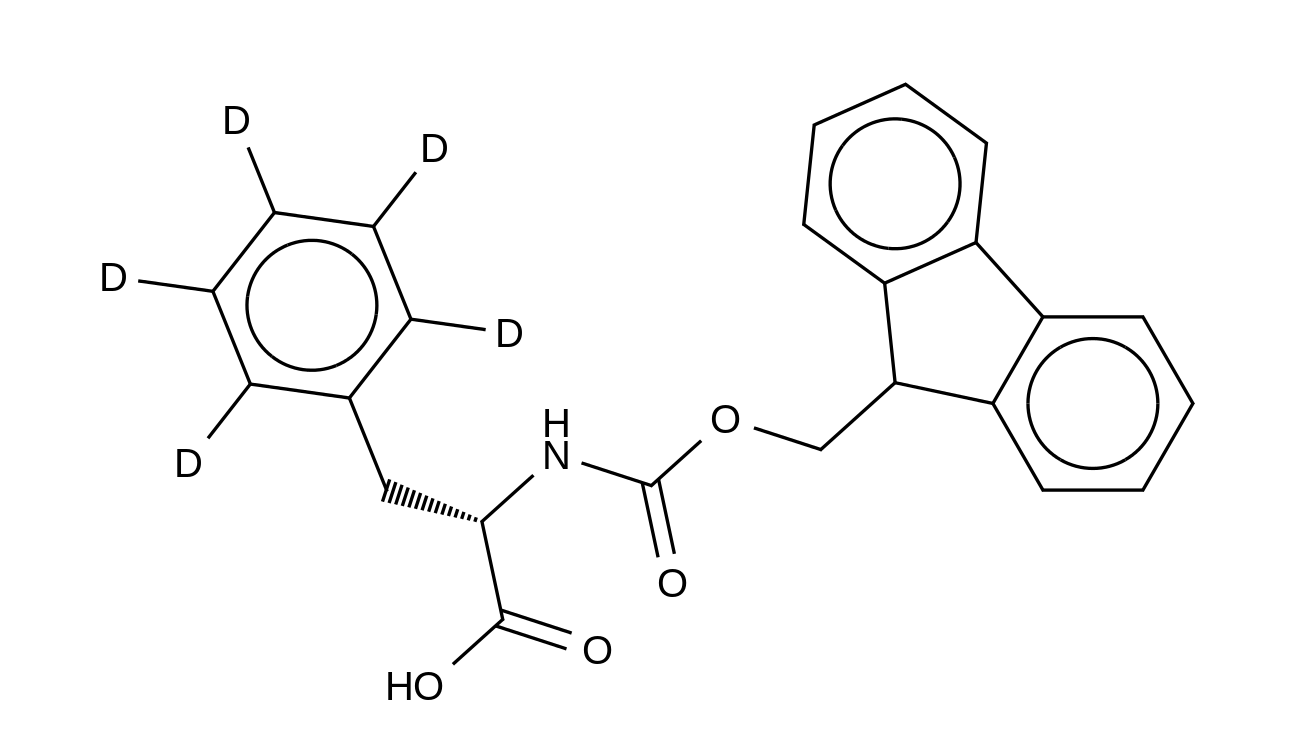 L-Phenyl-d<sub>5</sub>-alanine-N-FMOC