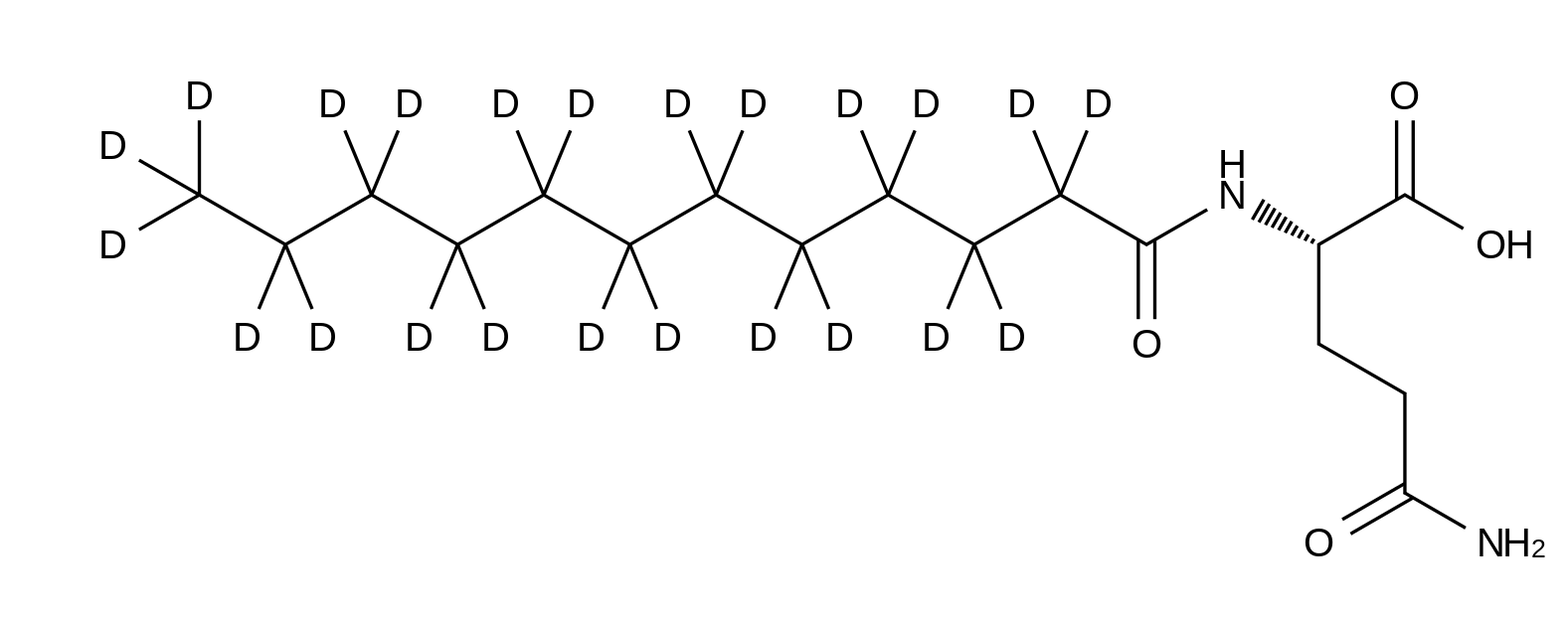 N2-Lauroyl-L-glutamine-d<sub>2</sub>3