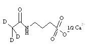 Acamprosate-d<sub>3</sub> Calcium Salt