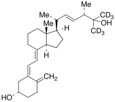 25-Hydroxy vitamin D2-26,26,26,27,27,27-d<sub>6</sub>
