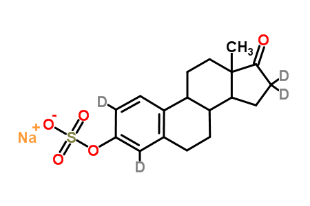 Estrone-2,4,16,16-d<sub>4</sub> Sodium Sulfate