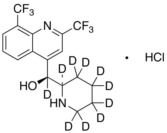 Mefloquine-d<sub>10</sub> HCl