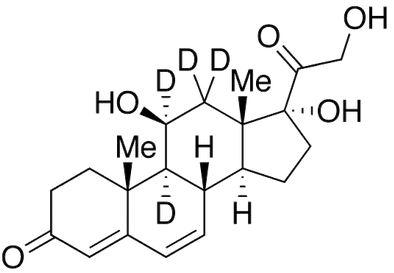 6-Dehydro cortisol-d<sub>4</sub>