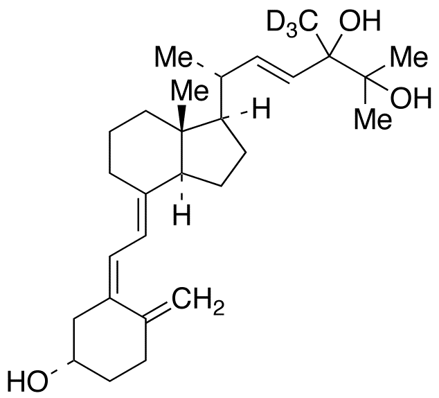 24,25-Dihydroxy vitamin D2-d<sub>3</sub>
