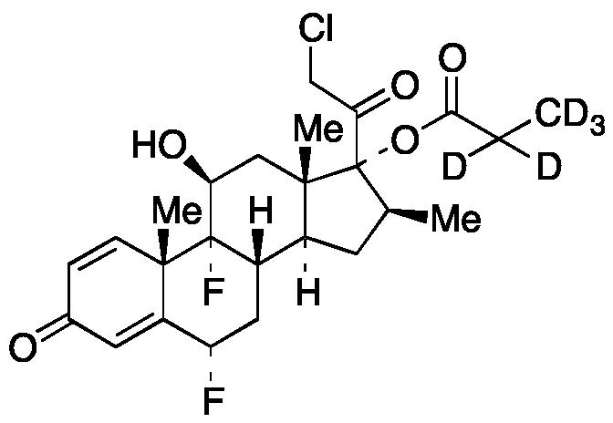 Halobetasol propionate-d<sub>5</sub>