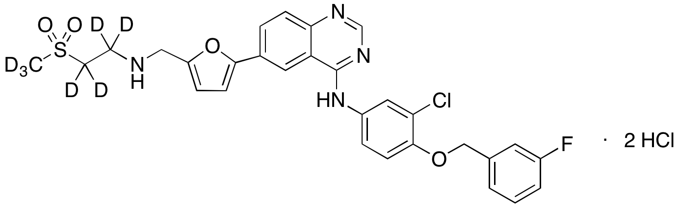Lapatinib-d<sub>7</sub> dihydrochloride
