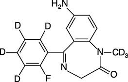 7-Aminoflunitrazepam-D<sub>7</sub> (100 ug/mL in Acetonitrile)